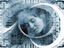 Toward Digital Thinking Royalty Free Stock Image