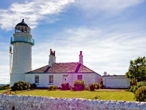 Toward lighthouse Royalty Free Stock Photo