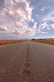 Toward Monument Valley. Desert road toward Monument Valley stock photography