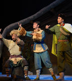 "Toward the sun-Peking Opera ""Taking Tiger Montain By Strategy"" Stock Photo"
