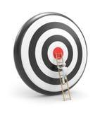 Toward the target Stock Photos