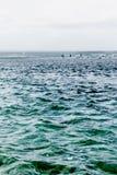 Toward three fisherman royalty free stock photos