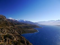Towards the Carretera Austral Stock Images