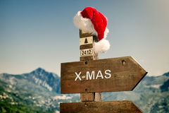 Towards Christmas Royalty Free Stock Images