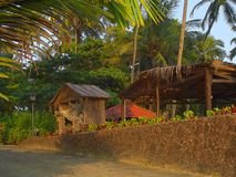 Towards Evening. In india, st. goa stock photography
