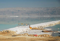 Towards industrial minerals from the Dead Sea Royalty Free Stock Images