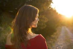 Towards the light Stock Photography