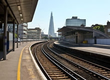 Towards The Shard, London City royalty free stock image