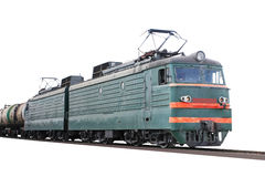 towarowy pociąg Fotografia Royalty Free