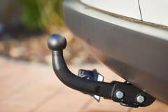 Towbar на автомобиле стоковое изображение rf