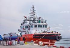 towboat Fotografía de archivo libre de regalías