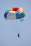 Towed Parachute. Royalty Free Stock Photos