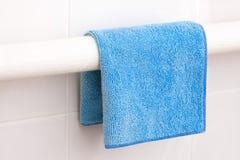 Towel. Drying on a radiator Stock Image