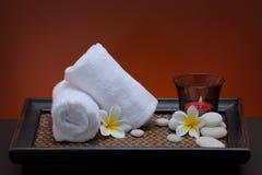 Towel. Health resort of Thailand,spa,aroma Stock Photo