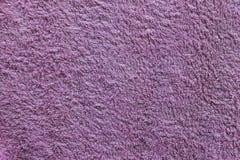 Towel. Purple towel texture close up Royalty Free Stock Photo