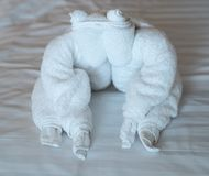 Towel Animal Royalty Free Stock Photography