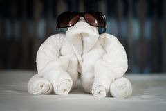 Towel Animal Royalty Free Stock Image