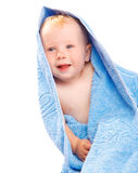 Towel baby Stock Photo