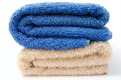 Towel for the bathroom Stock Photo