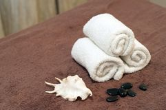Towel cosmetic Stock Image