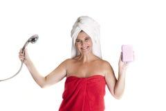 Towel head Stock Photo