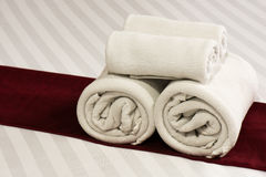 Towel, Hotel Royalty Free Stock Photography