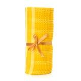 Towel isolated on white background Stock Image