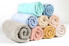 Towel isolated Royalty Free Stock Image