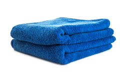Towel. Isolated on white background Royalty Free Stock Photos