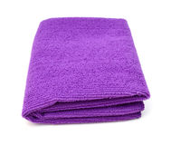 Towel isolated Stock Image