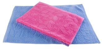 Towel, kitchen towel on background. Stock Image
