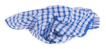 Towel. Kitchen towel on a background Royalty Free Stock Photos