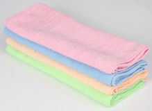 Towel. Kitchen towel on a background Stock Photography