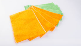 Towel or kitchen towel on a background. Royalty Free Stock Images