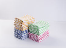 Towel or kitchen towel on a background. Royalty Free Stock Photos