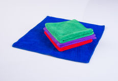 Towel or kitchen towel on a background. Stock Images