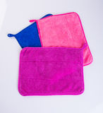 Towel or kitchen towel on a background. Stock Photography