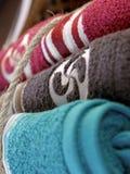 Towel laundry basque cross Royalty Free Stock Photography