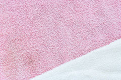 Towel macro texture Royalty Free Stock Photo