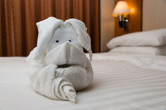 Towel Origami Art Royalty Free Stock Photo