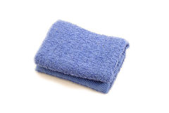 Towel over white Royalty Free Stock Image