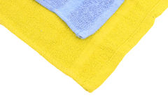 Towel over white Royalty Free Stock Images