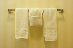 Towel rack Stock Images