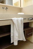 Towel on the rack Stock Image