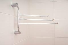 Towel rail Stock Photo