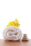Towel roll Stock Images