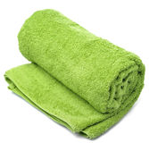 Towel roll Stock Image