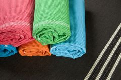 Towel Set Royalty Free Stock Images