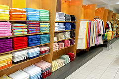 Towel shop Stock Photography