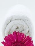 Towel spa wellness Stock Photo